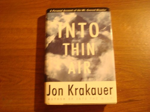 a character analysis of jon krakauer from the novel into thin air Into thin air summary & study guide includes detailed chapter summaries and analysis, quotes, character descriptions, themes, and more.