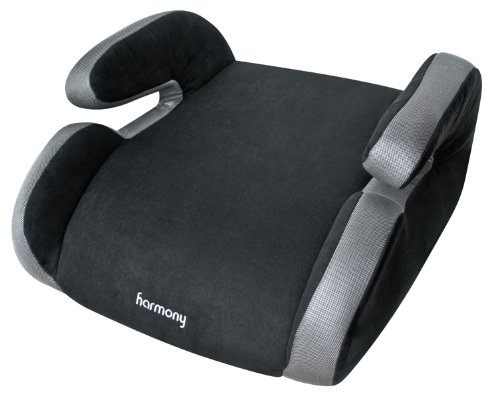 Harmony Olympian Youth Booster Car Seat, Black