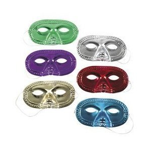 Metallic Half-Masks (2 dz)