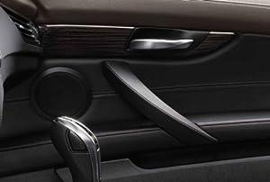 bmw genuine interior door handle cover trim left in fineline anthracite 51 41 9 167 027. Black Bedroom Furniture Sets. Home Design Ideas