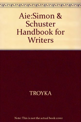 Aie:Simon & Schuster Handbook for Writers