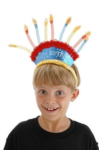 Birthday Candle Headband