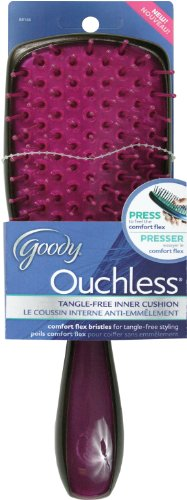 Goody Ouchless Colors Paddle Brush, Colors May Vary