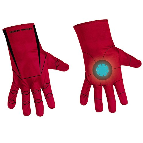 Iron Man 2 Mark VI Guantes de disfraces infantiles