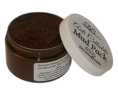Anti Cellulite Mud Pack With Dead Sea Clay, Coffee Grinds, Fenugreek, Juniper & More By Kym's Diva Stuff