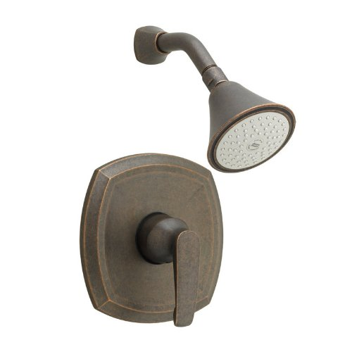 American Standard T005.501.224 Copeland Pressure Balance Shower Only Trim with 3 Function Adjustable Showerhead, Oil Rubbed Bronze