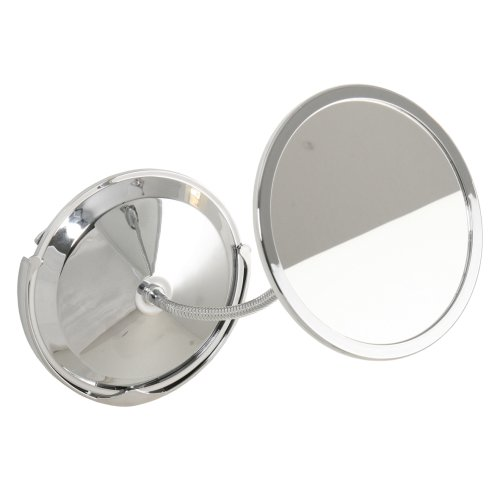 Roman dietsche reflections 415110 miroir chrome ventouse - Miroir a fixer au mur ...