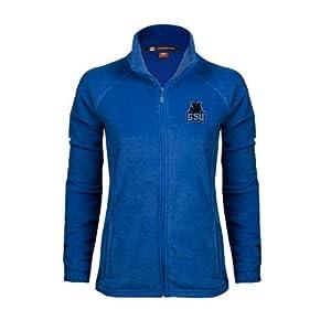 Georgia State Ladies Fleece Full Zip Royal Jacket 'GSU w/Panther' - S