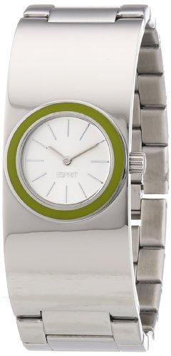 Esprit ES106242006 - Reloj analógico de cuarzo para mujer con correa de acero inoxidable, color plateado