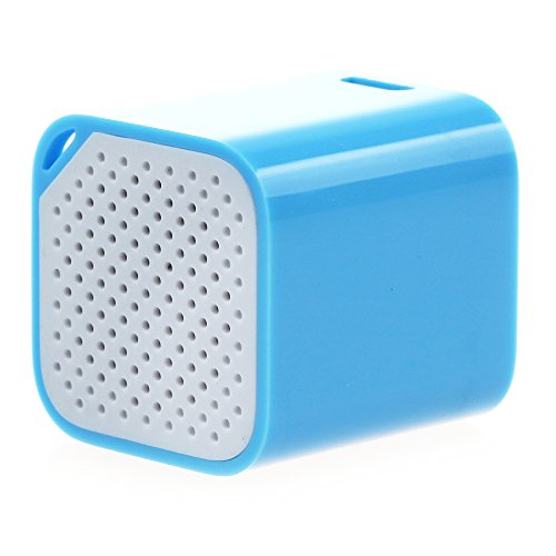 Mini Magical And Portable Multifunction Wireless Bluetooth Speaker Great For Listening Music, Taking Photos, Bluetooth Chat, Mobile Anti-Losit (Blue)
