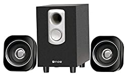 Flow Atom 2.1 Multimedia Speaker System fPC Laptop With Pure Wood Woofer