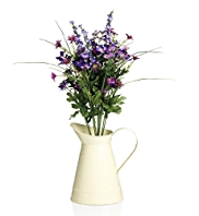 Artificial Autumn Flowers in Jug