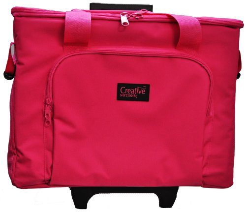 Sewing Machine Trolley Pink front-328296