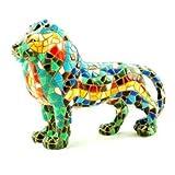 Barcino Mosaic Lion Multi 15cm