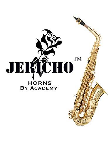 Saxophon Instrument-Jericho Alto in Gold Lack von Akademie® wurde im Vergleich zu der Yamaha 62-als einer der besten Budget Student Anfänger Saxophone auf dem Markt