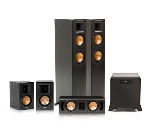 Klipsch Rf-52 Ii Reference Series 5.1 Home Theater System With Sw-450 Subwoofer (Black)