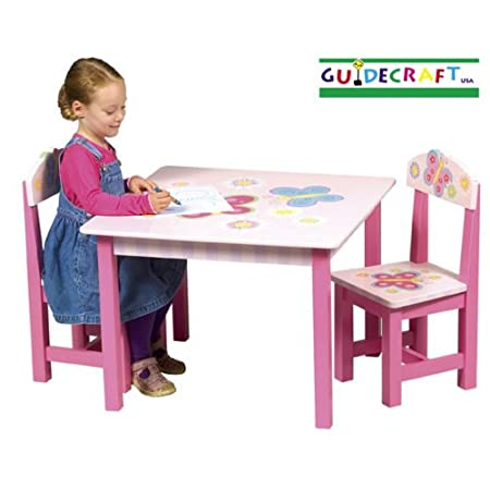 Butterfly Table and Chairs by Guidecraft