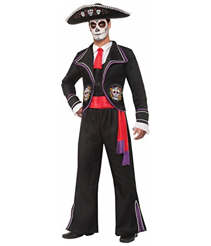 Day of the Dead Mariachi Macabre Adult Costume