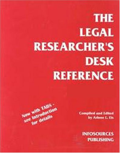 Legal Researchers Desk Reference
