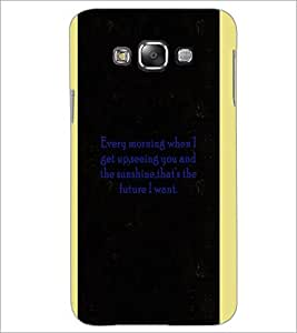 PrintDhaba Quote D-4966 Back Case Cover for SAMSUNG GALAXY A8 (Multi-Coloured)