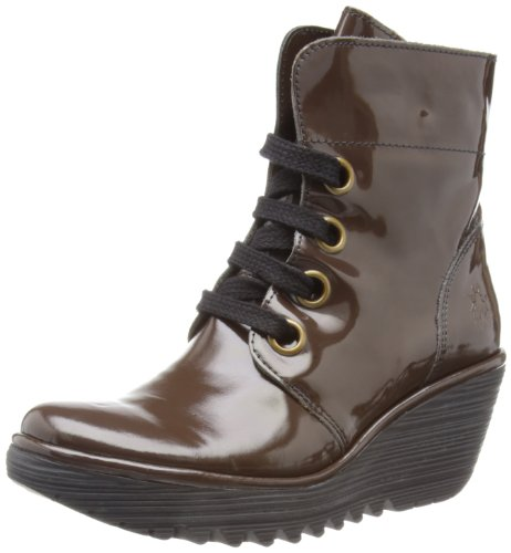 Fly London Womens Yel Mocca Boots P500325012 8 UK, 41 EU