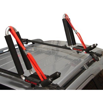 Malone J-Pro 2 J-Style Universal Car Rack Kayak Carrier with Bow and Stern Lines Carries Its Weight in the Field of Kayak Transport
