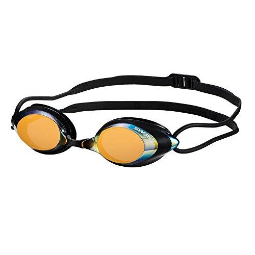 SWANS verspiegelte Schwimmbrille SRX-M - Wettkampf Brille Mirror