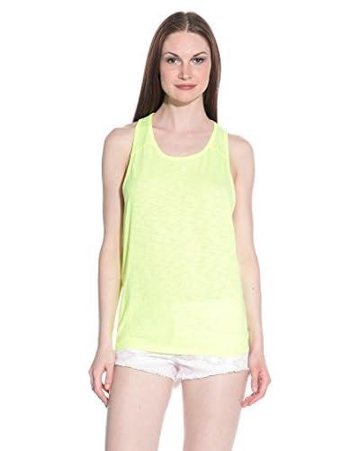 T-Shirt Manica Corta Slouch-Tank Orange Sewn