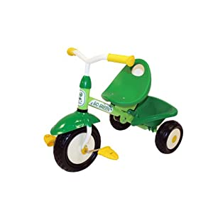 green tricycle for 18 months and older