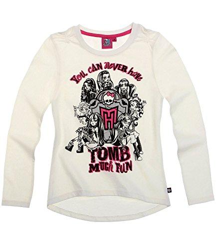Monster High Ragazze Maglietta maniche lunghe - crema - 128