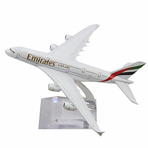 Gaobei A380 EMIRATES Airways Metal Alloy Airplane Model Plane Toy Plane Model (Emirates A380 Model compare prices)