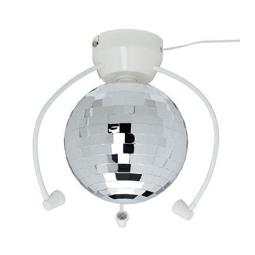 Ikea'S Dansa Disco Ball With Led Light