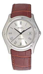 Ebel Men's 9120F51/6235134 Classic Silver Roman Numeral Dial Watch by Ebel