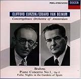 ブラームス : ピアノ協奏曲 第1番 ニ短調、Op.15
