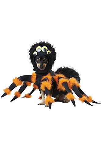 Spider Pup Pet Costume Size Medium