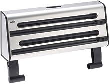 Comprar Emsa 504180 Contura - Portarrollos de cocina (para 3 rollos, de acero inoxidable, 41 cm), color negro