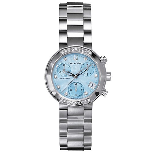 Accutron Women's 26R08 Chamonix Diamond Chronograph Watch