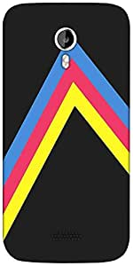 Snoogg to the right 2466 Designer Protective Back Case Cover For Micromax A116