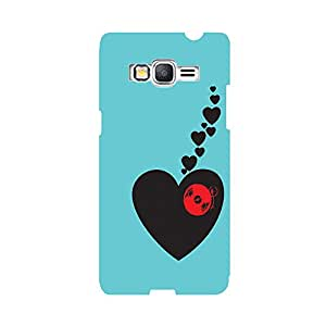 Digi Fashion Designer Back Cover with direct 3D sublimation printing for Samsung Galaxy Grand Prime