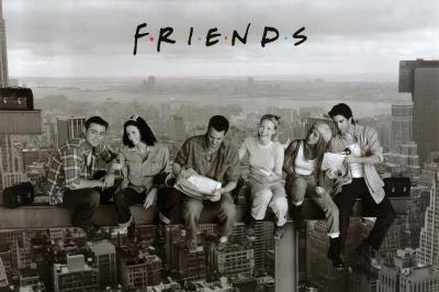 Friends - Lunch On A Skyscraper - Maxi Poster - 61 cm x 91.5 cm