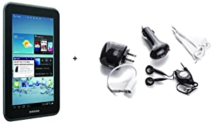 Samsung Galaxy Tab 2 (7-inch, Wi-fi) Refurbished Gt-p3113 + 5 Piece Accessory Kit