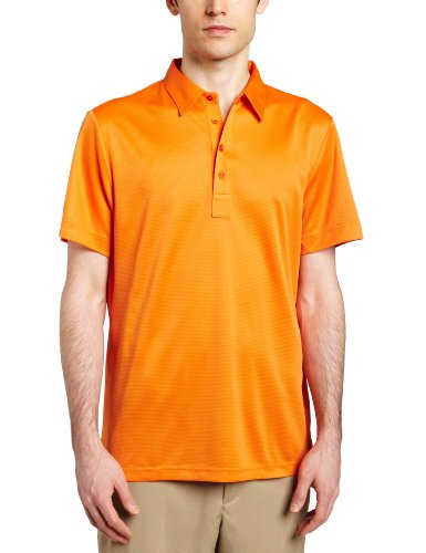 J.LINDEBERG Men's Hunter Feel Dry Jersey Golf Shirt