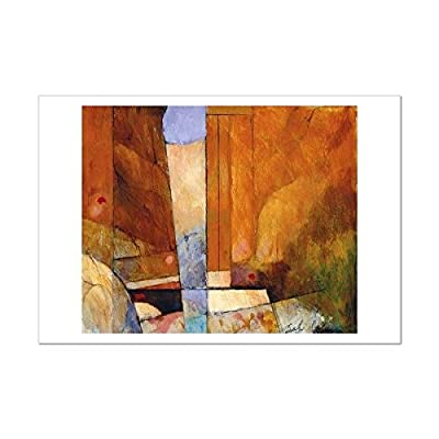 SMART ART - 'Canyon II' by Tony Saladino - Fine Art Print 19x13 inches