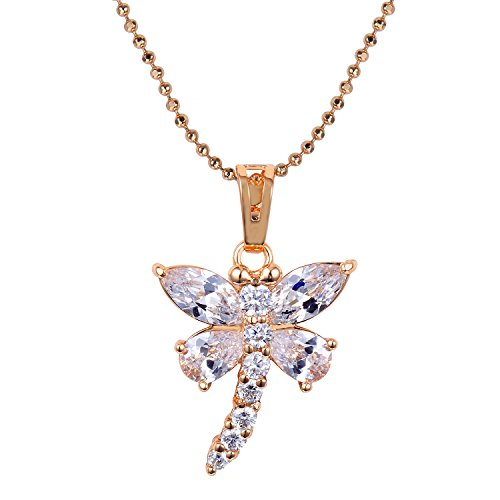 Snowman Lee Dancing Butterfly Diamond Cut Christmas Gift Chains Pendant Necklace