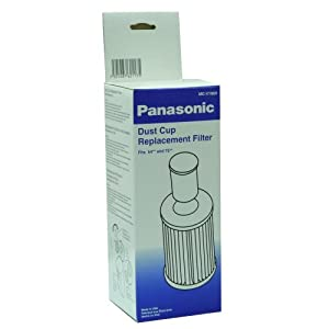 Panasonic MC-V196H HEPA Bagless Dust Cup Filter, 1-Pack