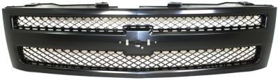 Evan-Fischer EVA19572032742 Grille Insert Set of 2 Grill Plastic OE comparable Textured black (2008 Chevy Silverado 1500 Grill compare prices)