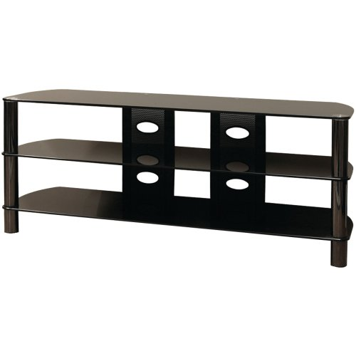 Cheap Techcraft BEL57B 57-Inch Wide Flat Panel TV Stand (Black) (BEL57B)