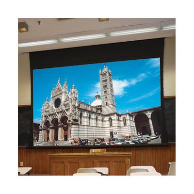 "Access Xl Series V Matte White Electric Projection Screen With Low Voltage Motor Size / Format: 255"" Diagonal / 16:10"