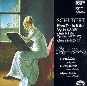 Schubert: Piano Trio in B-flat, Op. 99 (D.898) / Adagio [Notturno] in E-flat, Op. posth. 148 (D.897) / Allegro in B-flat (D.28) - The Mozartean Players