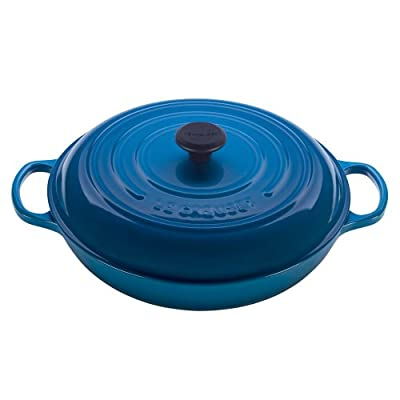 Le Creuset Signature Enameled Cast-Iron 5-Quart Round Braiser
